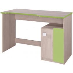 **DUO D6 pracovní stůl santana/zelená