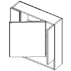 W70PD skříňka se zrcadlem PIRELLI výběr barev