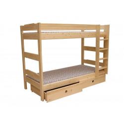 Patrová postel rozkládací se schůdky NI