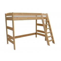 Smrková patrová postel horní patro NI