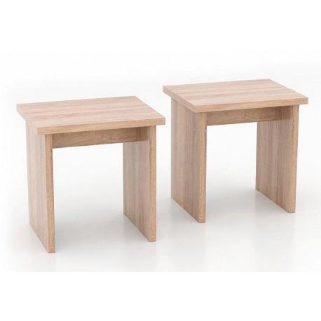 *Lavice - taburet MUNCHEN set 2 ks