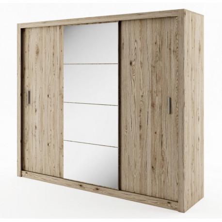 Šatní skříň IDEA 01 sanremo zrcadlo 250 cm