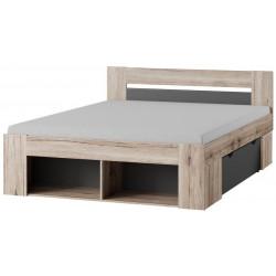 Postel ROMA 160 cm s nočními stolky