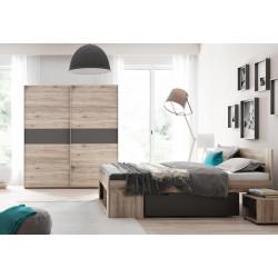 Ložnice ROMA ( postel 160, skříň, 2 stolky )