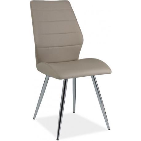 *Jídelní čalouněná židle H-607 cappuccino