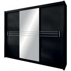 Šatní skříň HAVANA 250 černá