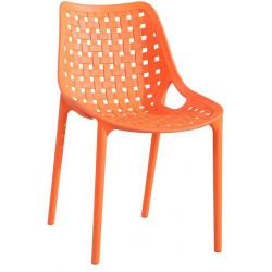 *Jídelní židle TERY oranžová