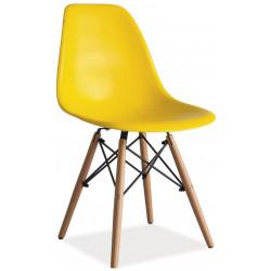 **Jídelní židle ENZO žlutá