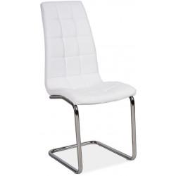 **Jídelní čalouněná židle H-103 bílá