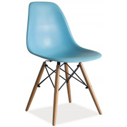 **Jídelní židle ENZO modrá