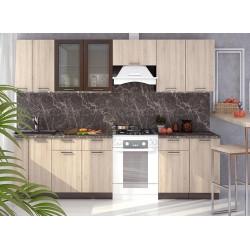 Kuchyně BRAUNI 280 wenge/sonoma