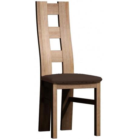 Čalouněná židle TADEÁŠ dub sanremo/Victoria 36