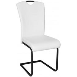 *Jídelní čalouněná židle TREVISO bílá/černá