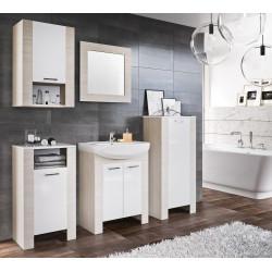 Koupelnová sestava TALIA duglaska/bílá