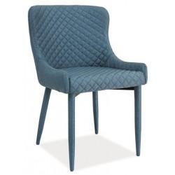 **Jídelní čalouněná židle COLIN denim