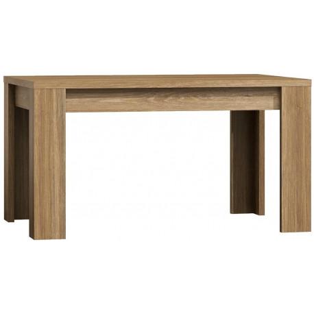 Jídelní stůl rozkládací 160 x 90 PARIS dub Sanremo