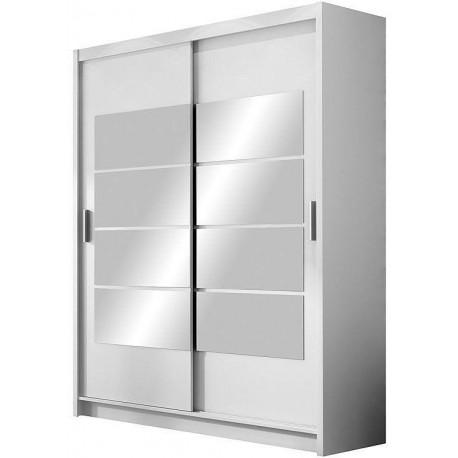 Šatní skříň VANCOUVER 180 bílá