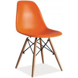 **Jídelní židle ENZO oranžová