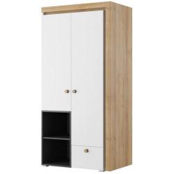 Šatní skříň 2-dveřová RIVA 02