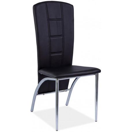 Jídelní čalouněná židle H-120 černá