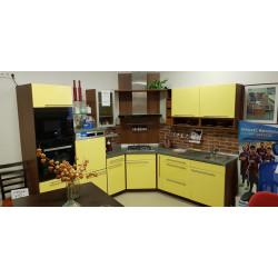 Kuchyňská linka IVELI žlutý lak