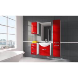 Koupelnová sestava CORAL II set 1 červená