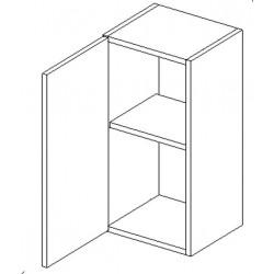 W30 h. skříňka CORAL II bílá levá