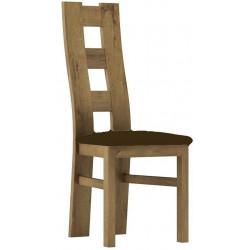 *Čalouněná židle TADEÁŠ dub stirling/Victoria 36