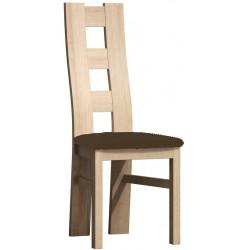*Čalouněná židle TADEÁŠ kraft zlatý/Victoria 36