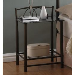 Noční stolek VD-930 černý