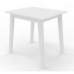 Jídelní stůl CARLOS 80x80 bílý