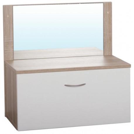 Zásuvka s zrcadlem CUBE - D308