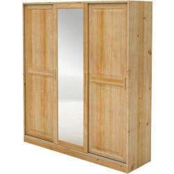 Šatní skříň zasouvací se zrcadlem - MV057
