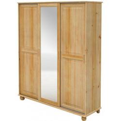 Šatní skříň zasouvací se zrcadlem - MV157