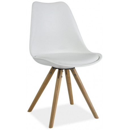 Jídelní židle ERIC bílá