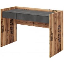 Psací stůl DRAKE 07 smrk/steel