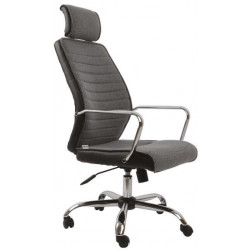 Kancelářská židle ZK74 šedá