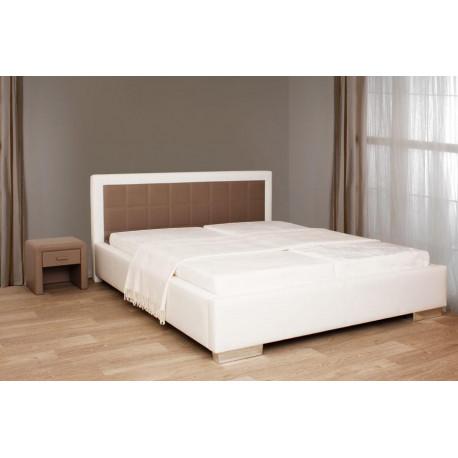160x200 čalouněná postel KORA L082