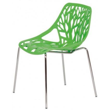 Židle chromovaná BOHUMILA