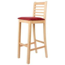 Židle buková barová ŠÁRKA