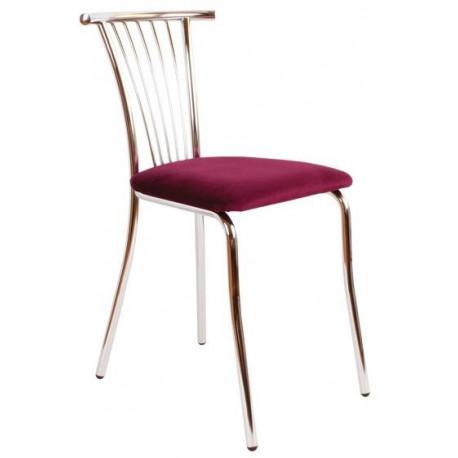 Židle chromovaná TAMARA