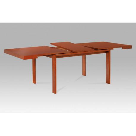 Jídelní stůl 180+45x95 cm, barva třešeň