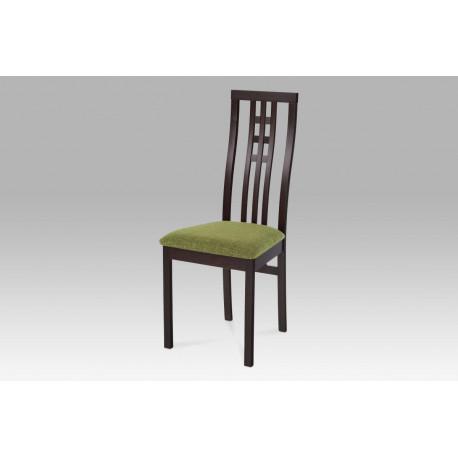 Jídelní židle BEZ SEDÁKU masiv buk, barva wenge