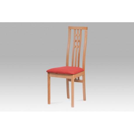 Jídelní židle BEZ SEDÁKU masiv buk, barva buk