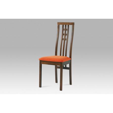 Jídelní židle BEZ SEDÁKU masiv buk, barva ořech