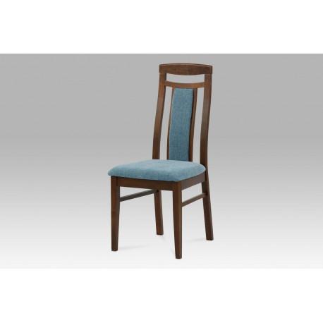 Židle BEZ SEDÁKU, barva ořech