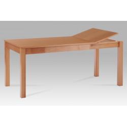 Jídelní stůl rozkládací 120+44x80 cm, barva buk