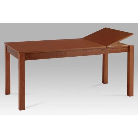 Jídelní stůl rozkládací 120+44x80 cm, barva třešeň