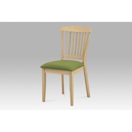 Jídelní židle BEZ SEDÁKU, bělený dub