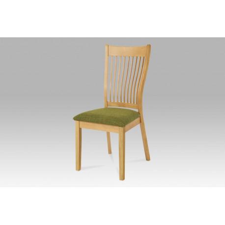 Jídelní židle BEZ SEDÁKU, barva bělený dub